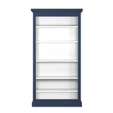 Bookcase (Stone Grey/Norwegian Blue)