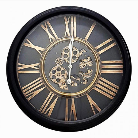 Large Square Moving Clock 80  cm