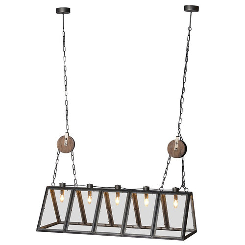 Rectangular Industrial Cage Light