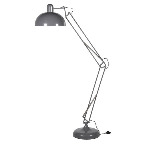 Extra Large Angled Floor Lamp - Grey