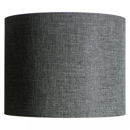 Charcoal Linen Shade 45 cm