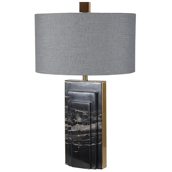 Deco Style Marble Base Lamp