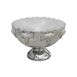 Large Magnum Silverplate Punch Grape Bowl