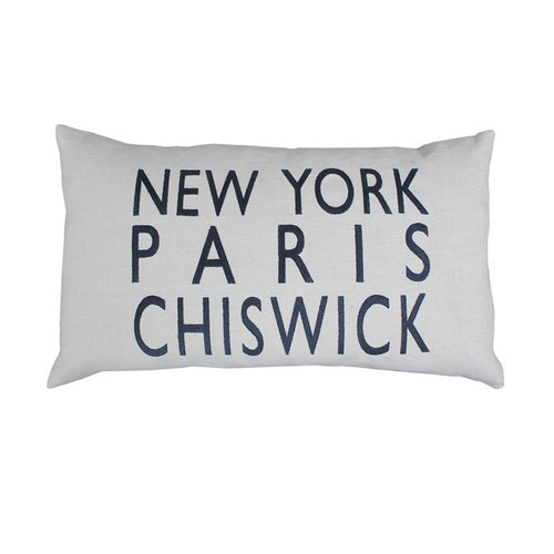 New York Paris Chiswick Sand Cushion