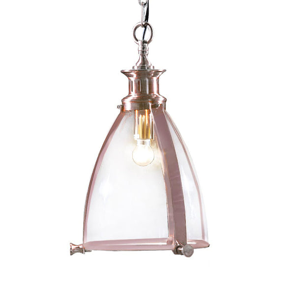 Glass Lantern Ceiling Light