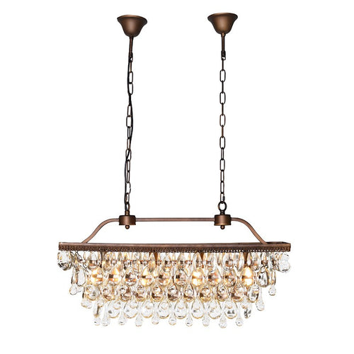 Crystal Droplets Chandelier