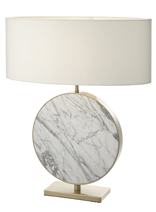 Marble and Gilt Lamp