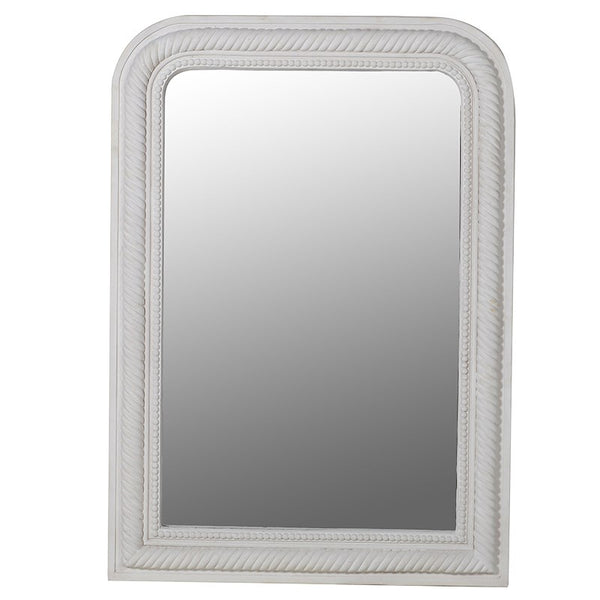 Beaded & Rope Edged Mirror