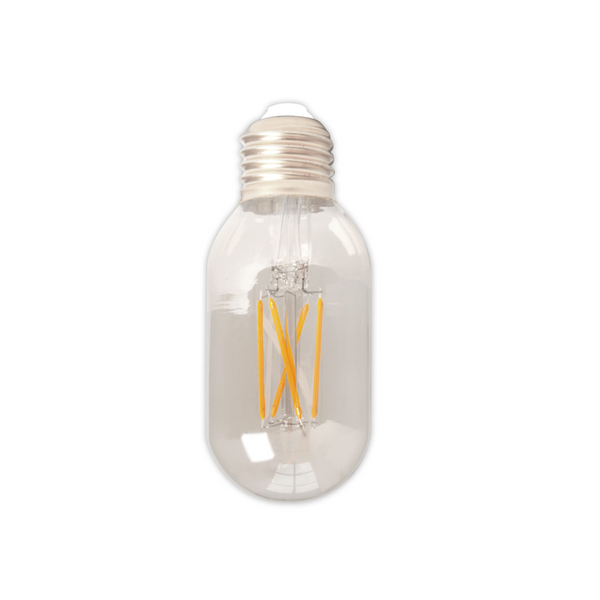 Dimmable LED Tube Zigzag Filament Bulb - E27 (Clear) 4w 11cm