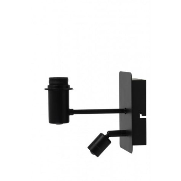 Double Black Wall Lamp