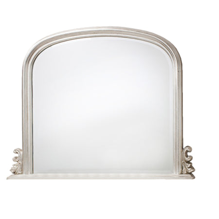 Square Copper Framed Wall Mirror