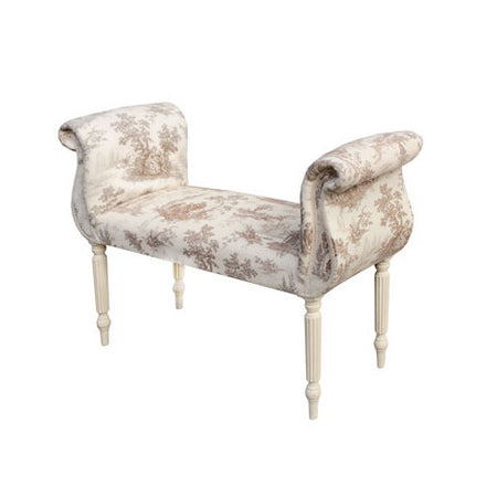 Orion Velvet Alabaster Chaise Longue
