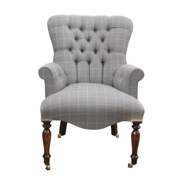 Chalk Check Tub Chair