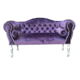 Heavenly Purple Velvet Sofa