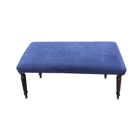 Chalk Check Chaise Base Coffee Table Stool