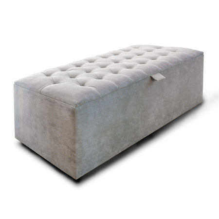 Chalk Check Double Sofa