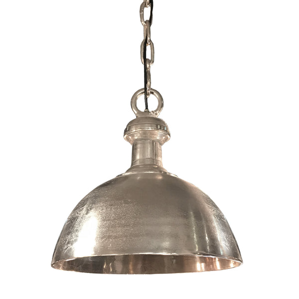 Silver Metal Hanging Lamp