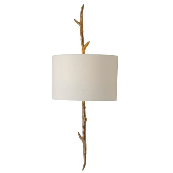 Solid Brass Wall Lamp With Shade
