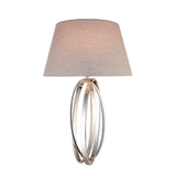 Nickel Finish Wall Lamp