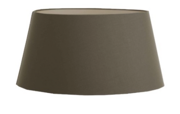 Oval Shade - Brown/Charcoal/Grey/Light Brown/White
