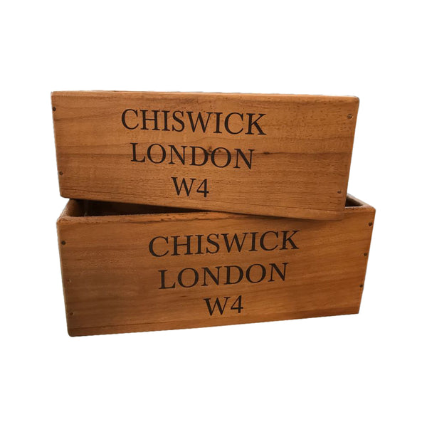 Chiswick giftware available, Chiswick wooden boxes, Placemats, Coasters and Cushions.