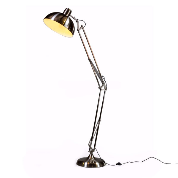 Extra Large Angled Floor Lamp - Steel