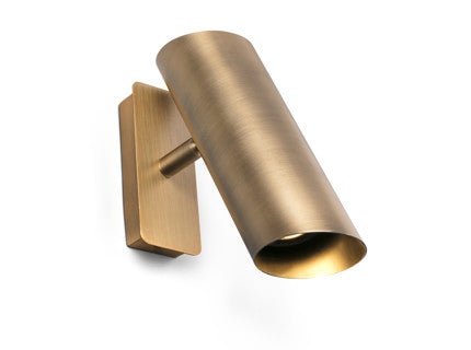 Bronze Tubular Wall Light
