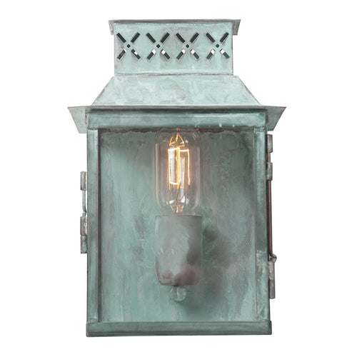 Verdigris Exterior Light