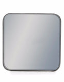 Square Silver Framed Arden Wall Mirror