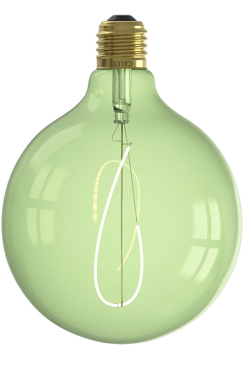 Medium Globe Filament Coloured Light Bulb - Dimmable