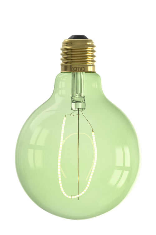 Small Globe Filament Coloured Light Bulb - Dimmable