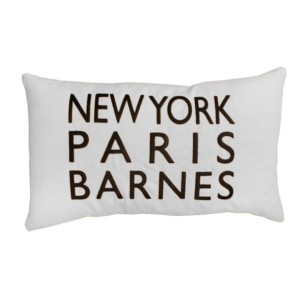 New York Paris Barnes Sand Cushion
