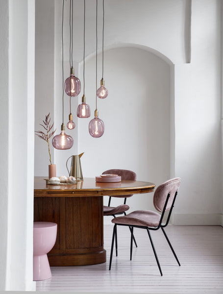 Balloon Filament Coloured Light Bulb - Dimmable