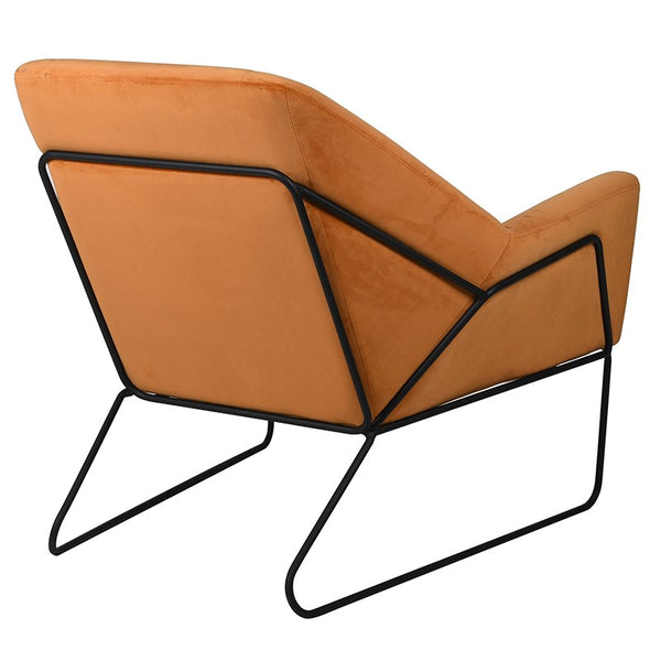 Amber Orange Armchair