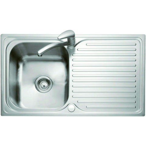 Dove 100 - Inset Sink with Drainer