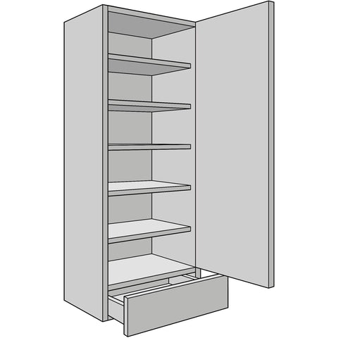 Drawer-Line Dresser Unit 300mm Depth, With Standard Drawer Insert