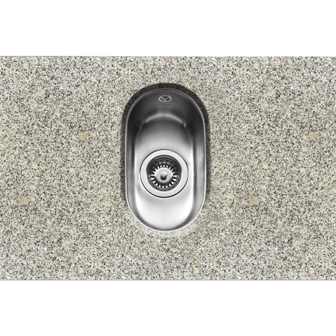 Form 17 - Under-mounted Half Bowl Sink