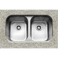 Form 3636 - Under-mounted Double Bowl Sink, Sinks - Kitchen Suppliers Online