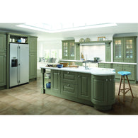 HIGHBURY - Cornice Radius Profile Top Section, Kitchen Doors - Kitchen Suppliers Online