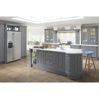 HIGHBURY - Curved Cornice Section 320 x 320mm, Kitchen Doors - Kitchen Suppliers Online