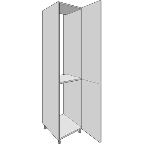 Hoxton 'Aske' 2150mm High Tall Fridge/Freezer Housing with Fixed Shelf, Complete Kitchen Cabinets - Kitchen Suppliers Online