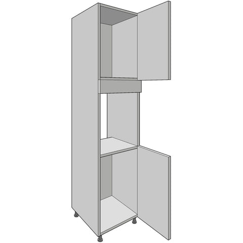 Hoxton 'Aske' Appliance Housing Tower 2150mm High, 600mm or 900mm Aperture, Complete Kitchen Cabinets - Kitchen Suppliers Online