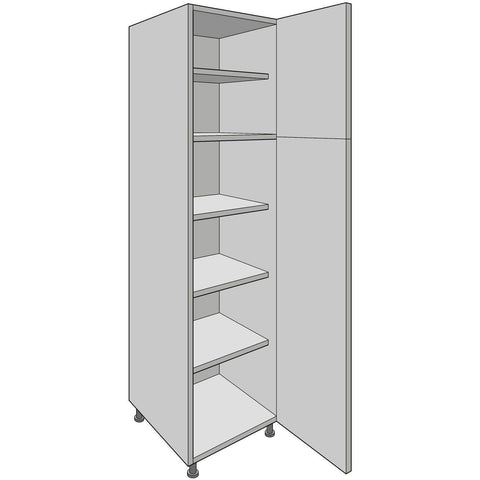 Hoxton 'Aske' Tall Larder Units, Various Heights and Widths, Complete Kitchen Cabinets - Kitchen Suppliers Online