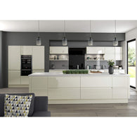 Hoxton 'CURVE' - Cornice/ Pelmet Bar (Universal Trim) 3.0m (50 x 30mm), Complete Kitchen Cabinets - Kitchen Suppliers Online