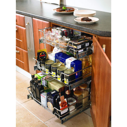 Individual Pull-Out Basket With Runners, Storage - Kitchen Suppliers Online