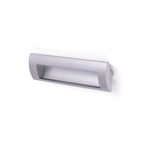 LETTERBOX, Curved/Flat Handle in Chrome or Satin Chrome