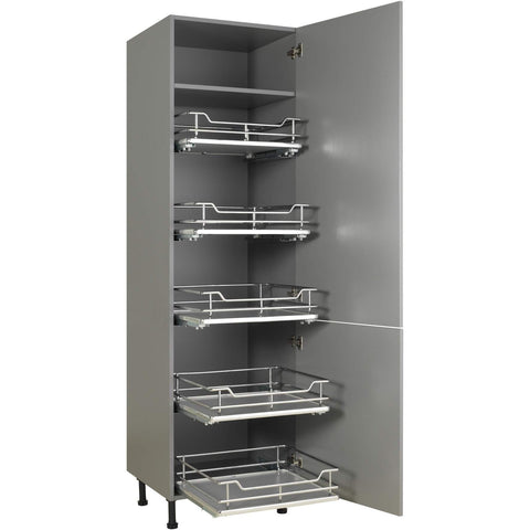 Luxury Individual Pull Out Plus, 2nd Generation Larder Shelving System, Storage - Kitchen Suppliers Online