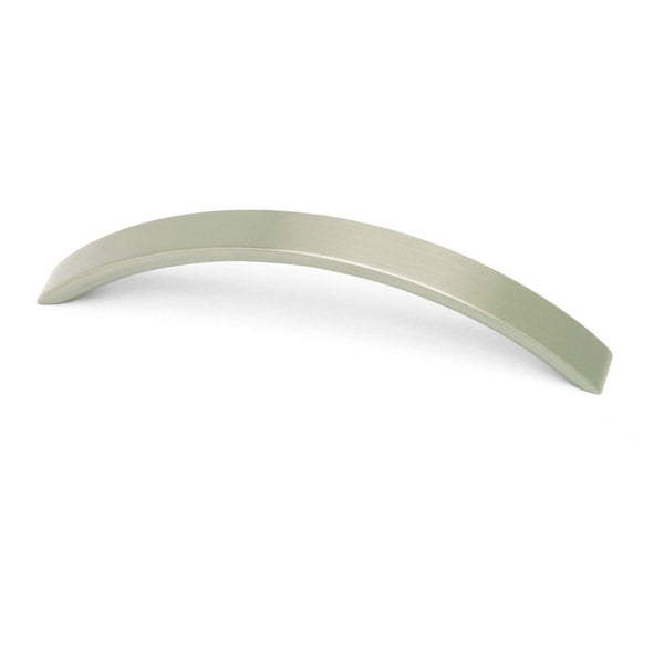 RAINBOW, Bow Handle in Brushed Nickel or Satin Chrome