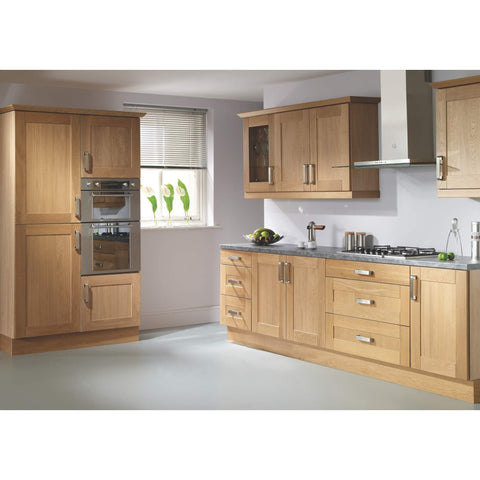 Rutland Oak Doors- 450mm, 500mm or 570mm High Door, Various Widths, Kitchen Doors - Kitchen Suppliers Online