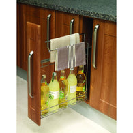 Side Mounted Wire Pull-Out, To Suit 150mm Wide Base Cabinet, 2 Variants, Storage - Kitchen Suppliers Online